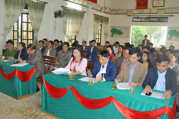 HĐND các xã mới sáp nhập ở Vũ Quang khai mạc Kỳ họp thứ nhất, nhiệm kỳ 2016 - 2021